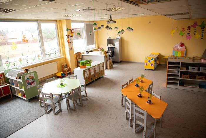 Ādažu vidusskolas bērnudārza telpas